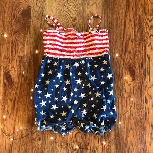 Red, White & Blue 18-24 month outfit